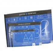 Daler Rowney Tracing Paper Pad 60gsm A2, A3 or A4