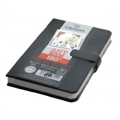 Canson 180 Sketchbooks, 96gsm 80 sheets light textureed surface