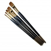 Pro Arte Series RSF, Renaissance Sable One Stroke Brushes - Single Flat Brush