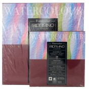 Fabriano Acquarello Watercolour Pad Cold Press (NOT) 25% Cotton Square