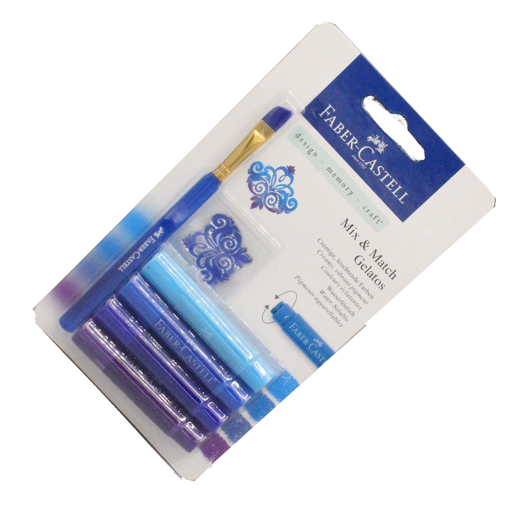 Faber Castell Mix & Match Galatos water-soluble crayons, pigment sticks