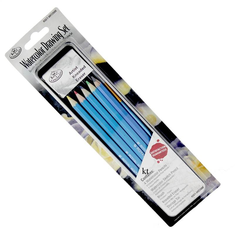 Royal & Langnickel Mini Artists' Tin Set - Drawing or Painting Sets