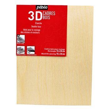 Pebeo 3D Resin Pouring Boards - Assorted Sizes