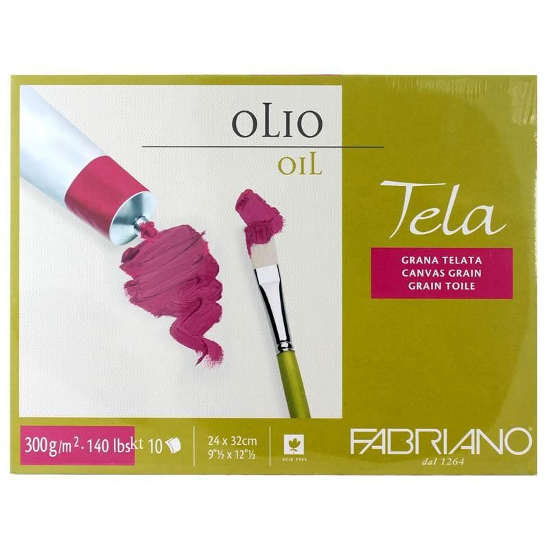Fabriano Tela oil Block