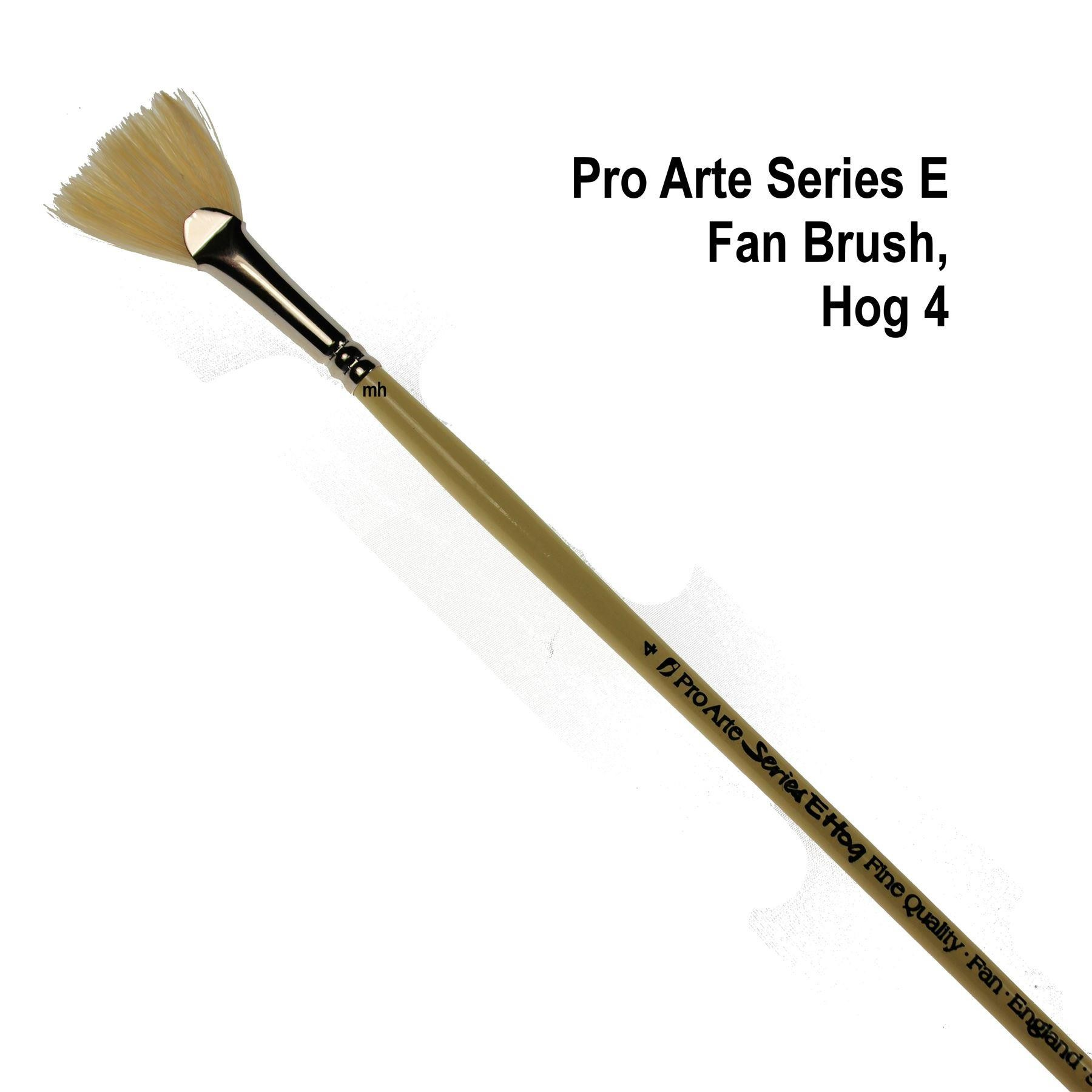 Pro Arte serie E Hog Hair Fan brush