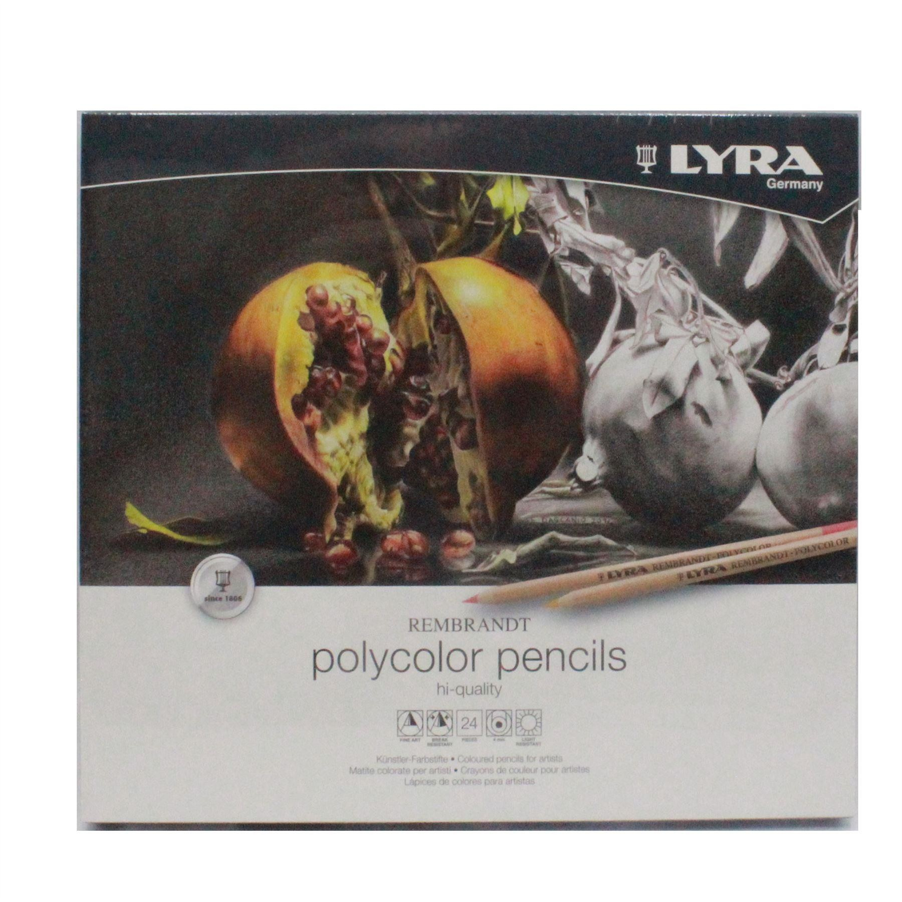 Artists colour pencils polycolor pencils lyra rembrandt