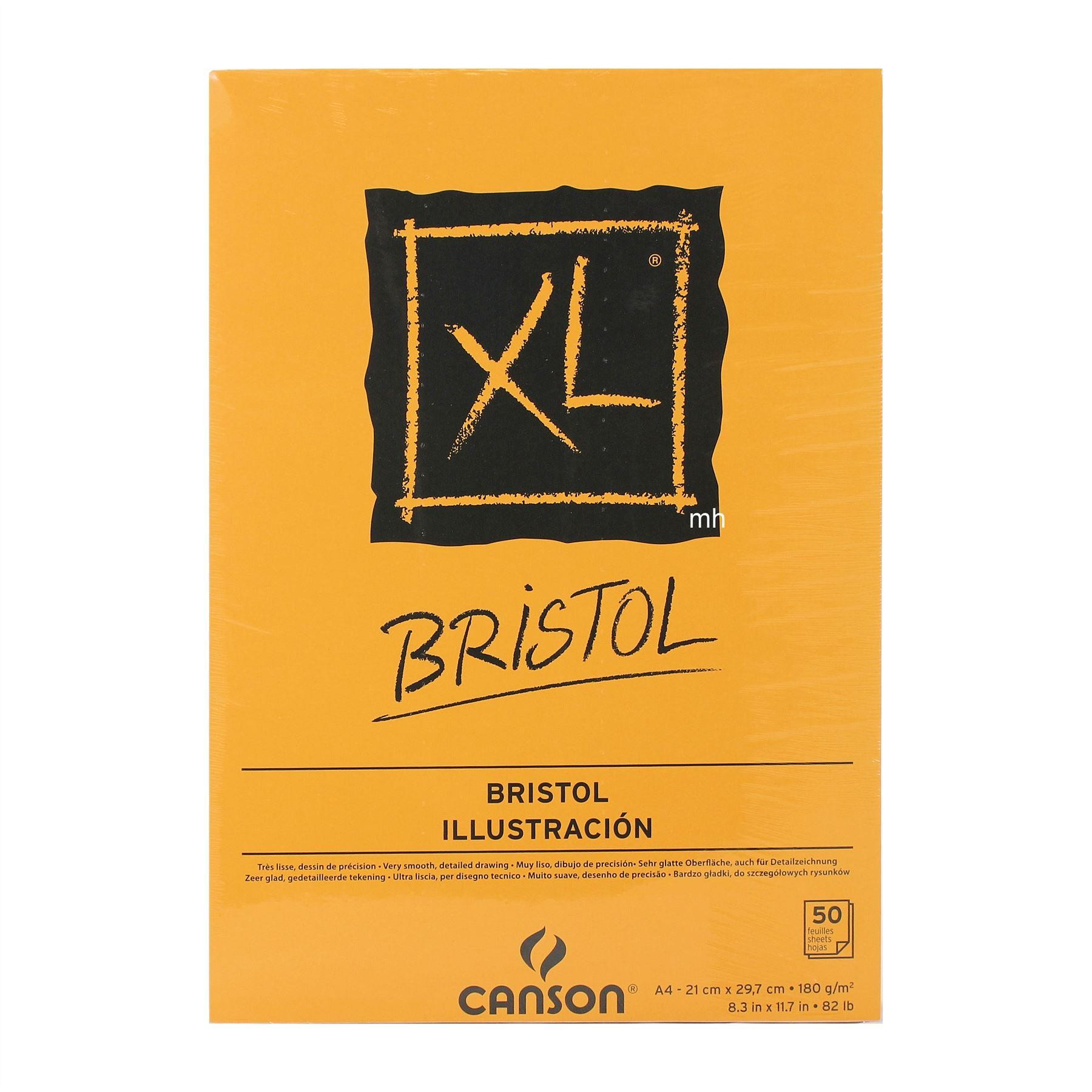 Canson XL Bristol Pad 50 Sheets 180gsm