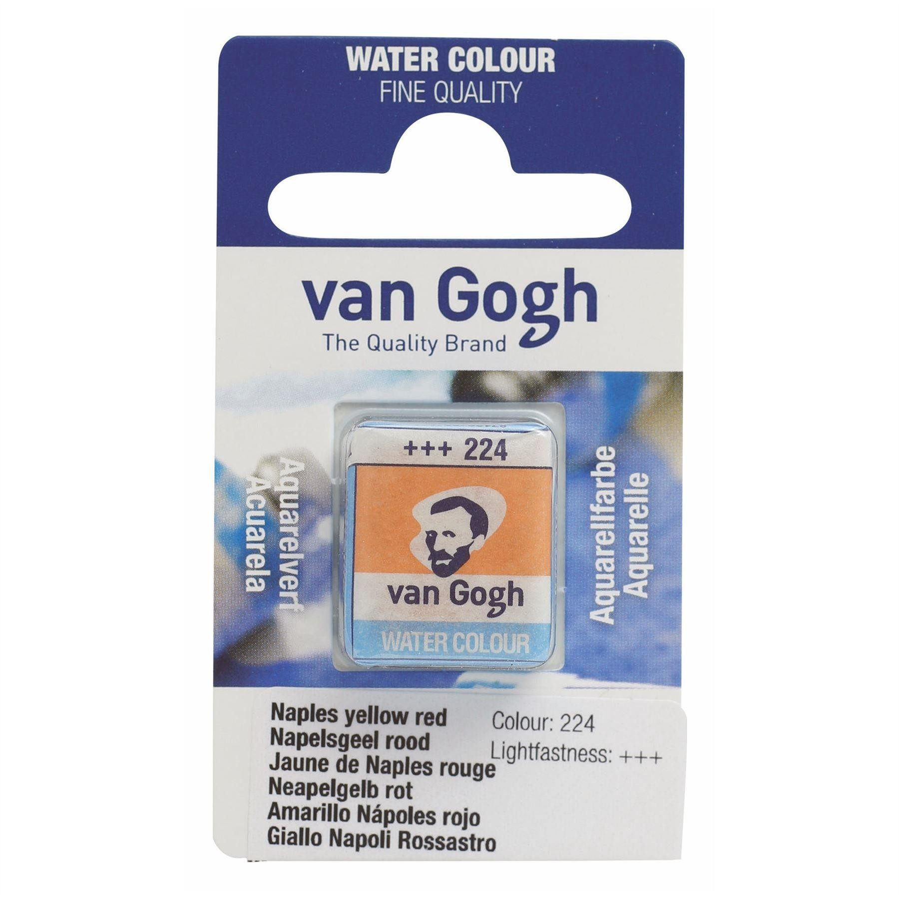 Royal Talens Van Gogh Watercolour Paint Pan - Single