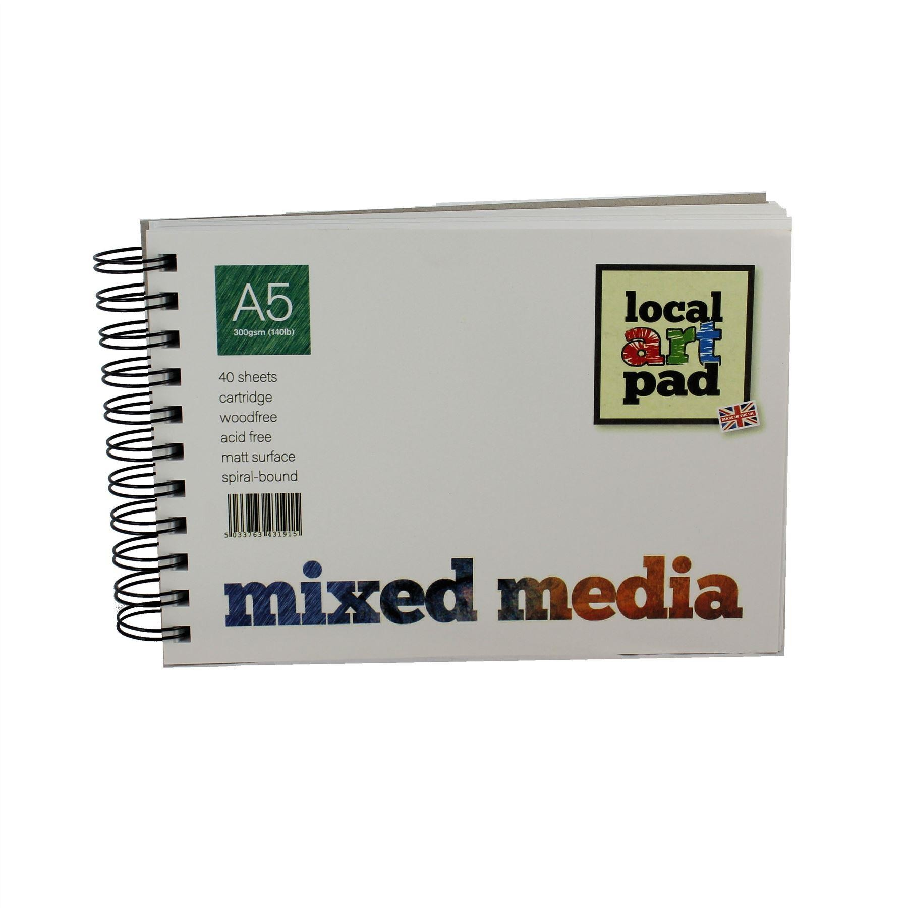Local art Pad Mixed Media Pad 300gsm