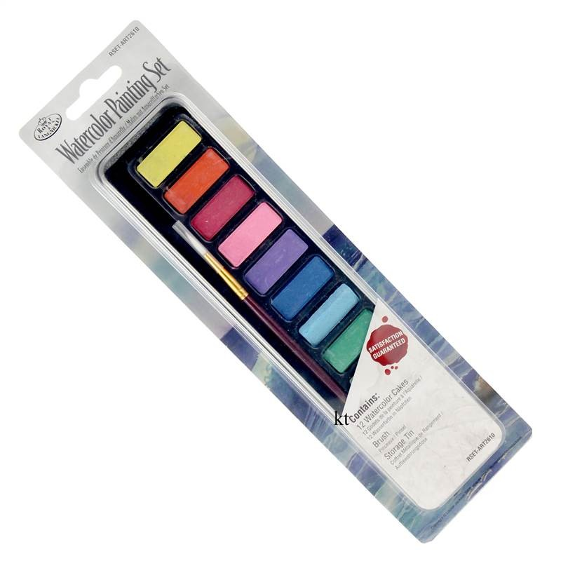 Royal & Langnickel mini artists tin set, selection for drawing or painting sets