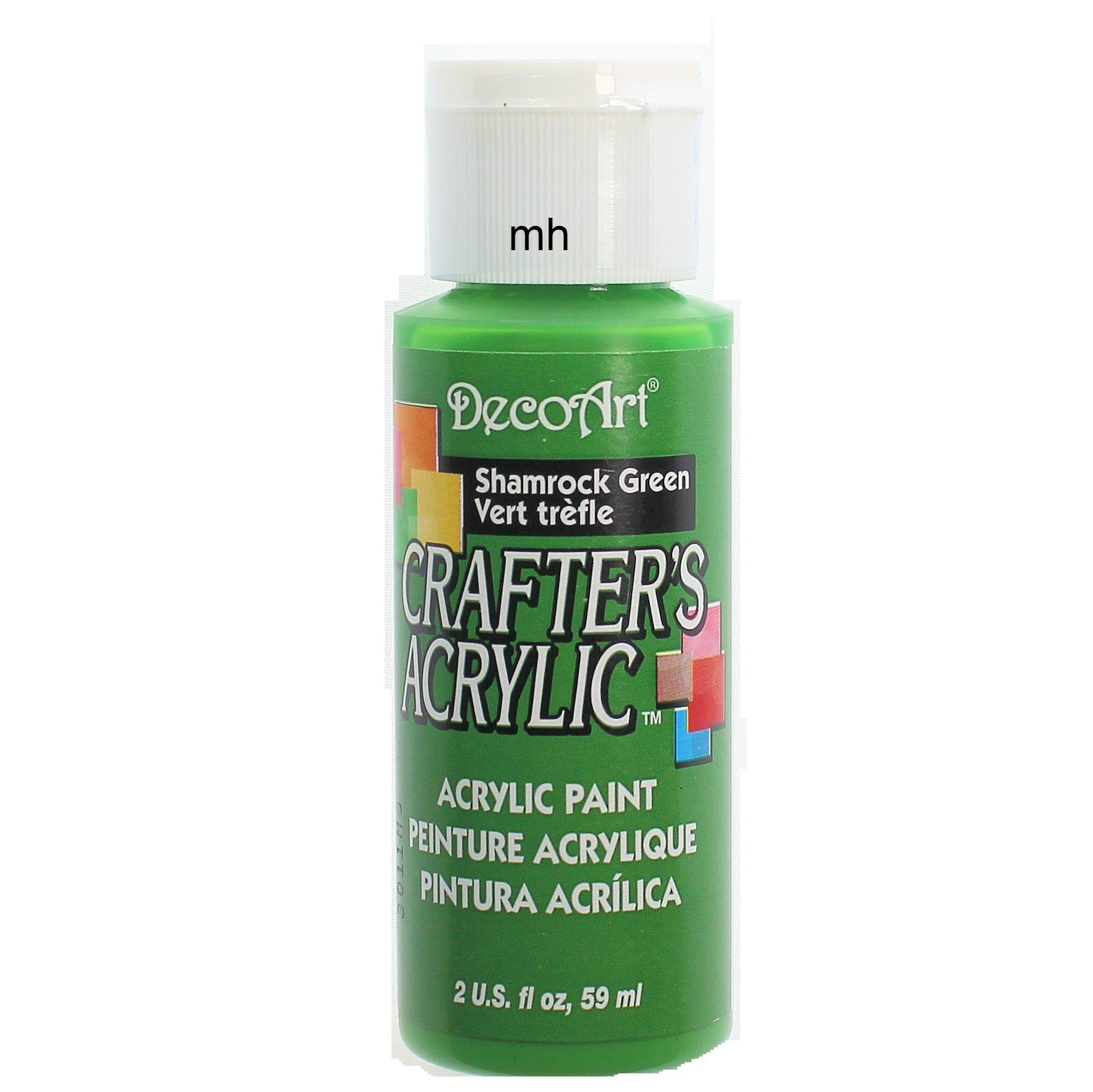 DecoArt Crafters' Acrylic Paint, Assorted Colours - Single 59ml Pots, Buy 2 get 3rd Free