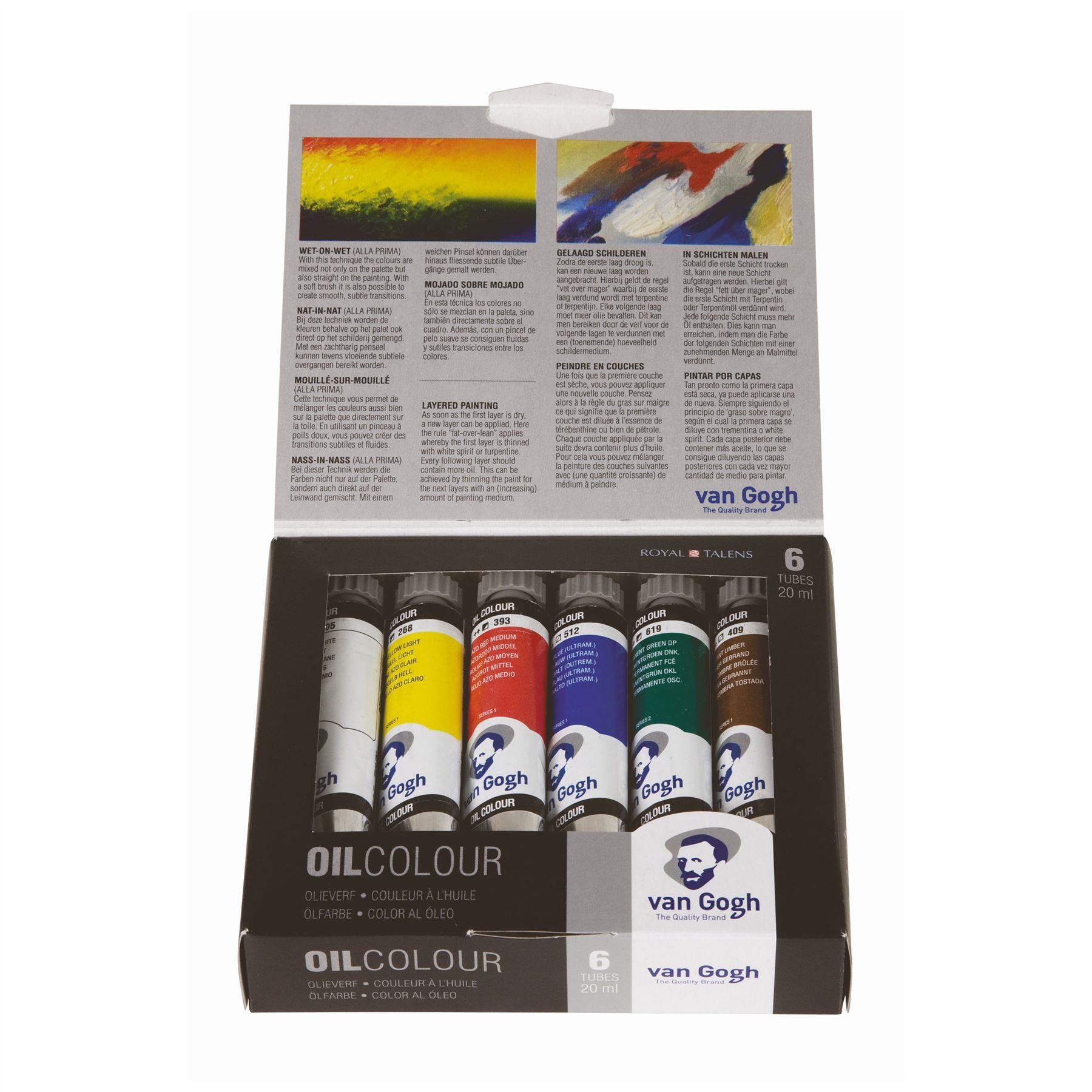 Royal Talens Van Gogh oil colour paints