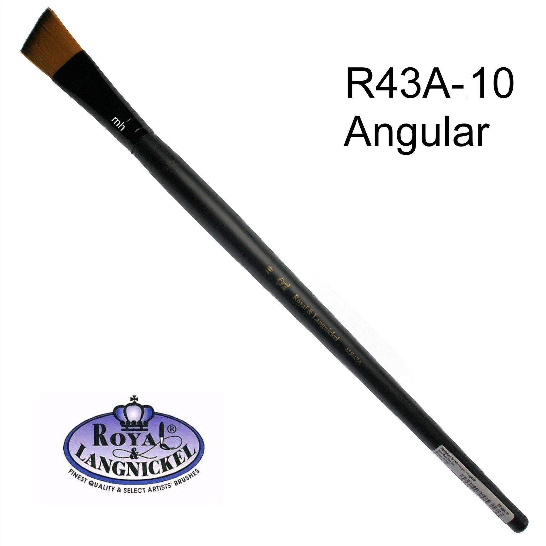 Royal & Langnickel Essential Synthetic Taklon Paint Brushes - Assorted Sizes