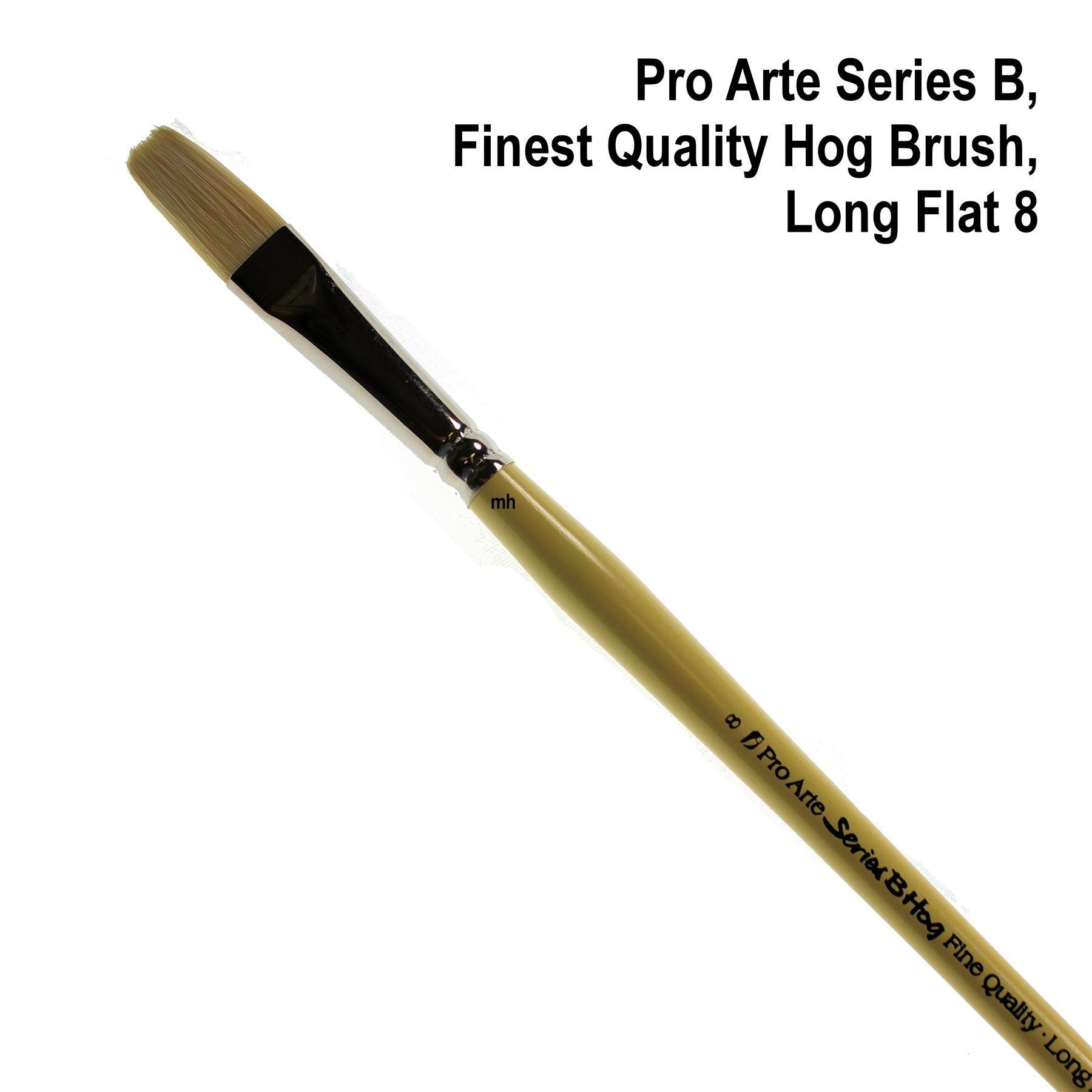 Pro Arte series B Long Flat brush
