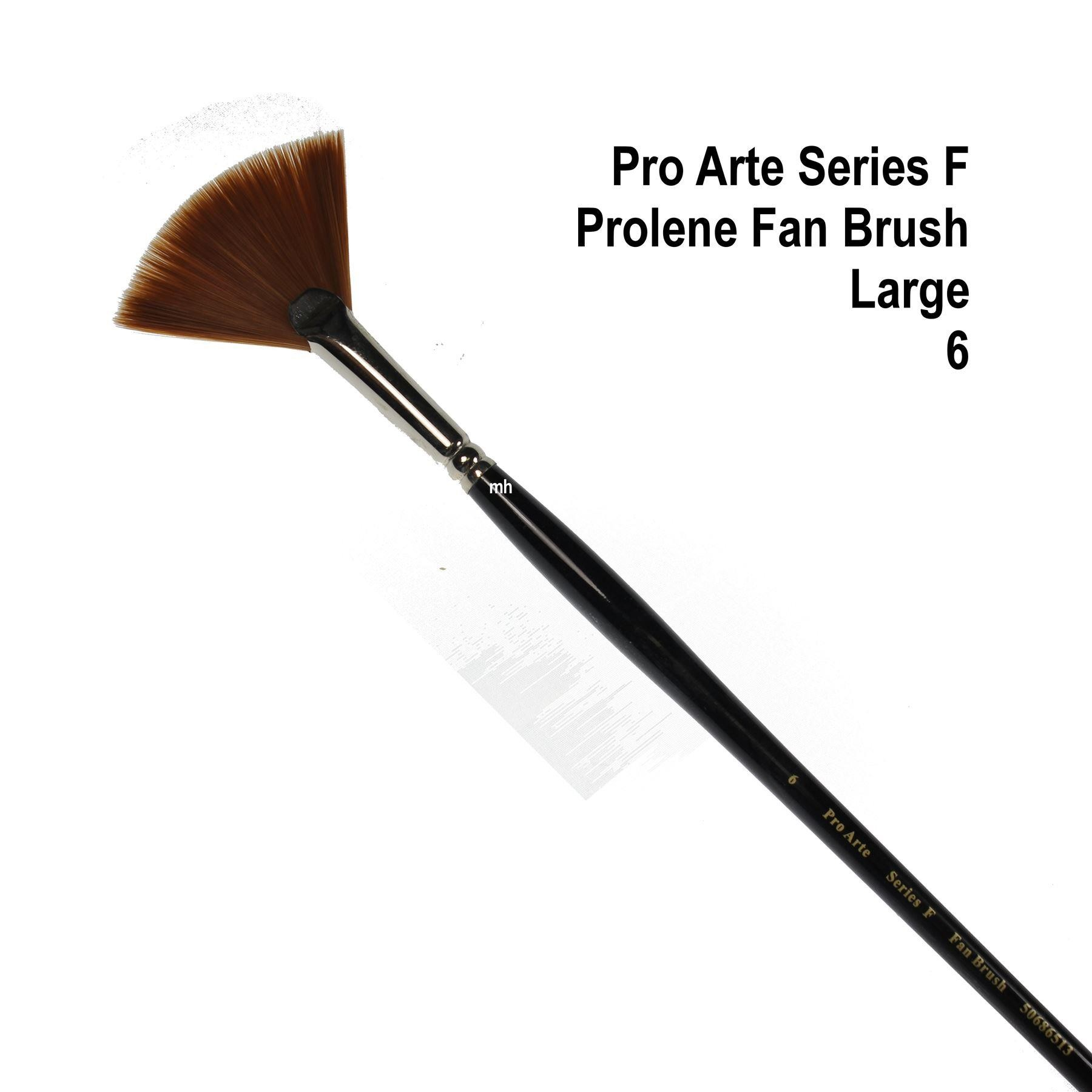 Pro Arte series F fan brush