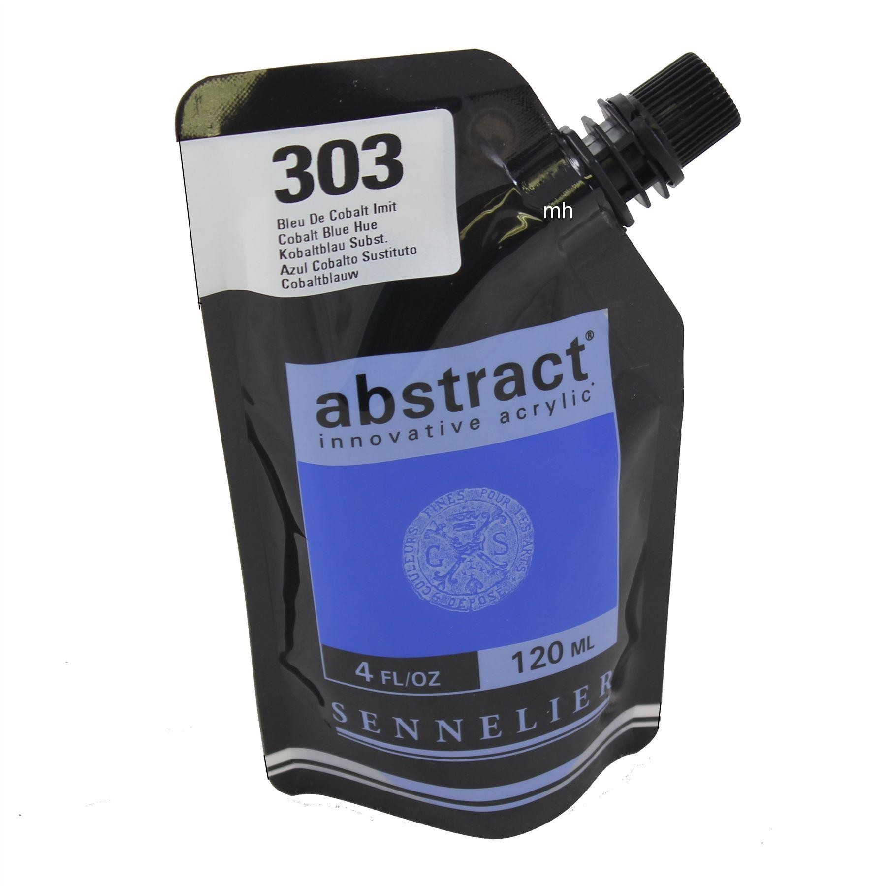 Sennelier Abstract innovative acrylic paint 120ml ,4oz, assorted colours